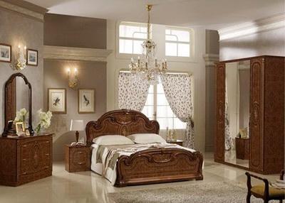 Спальня итальянский орех