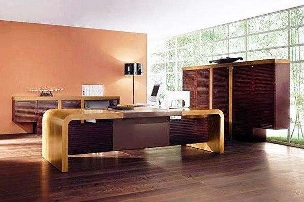 Офисная мебель итальянский орех