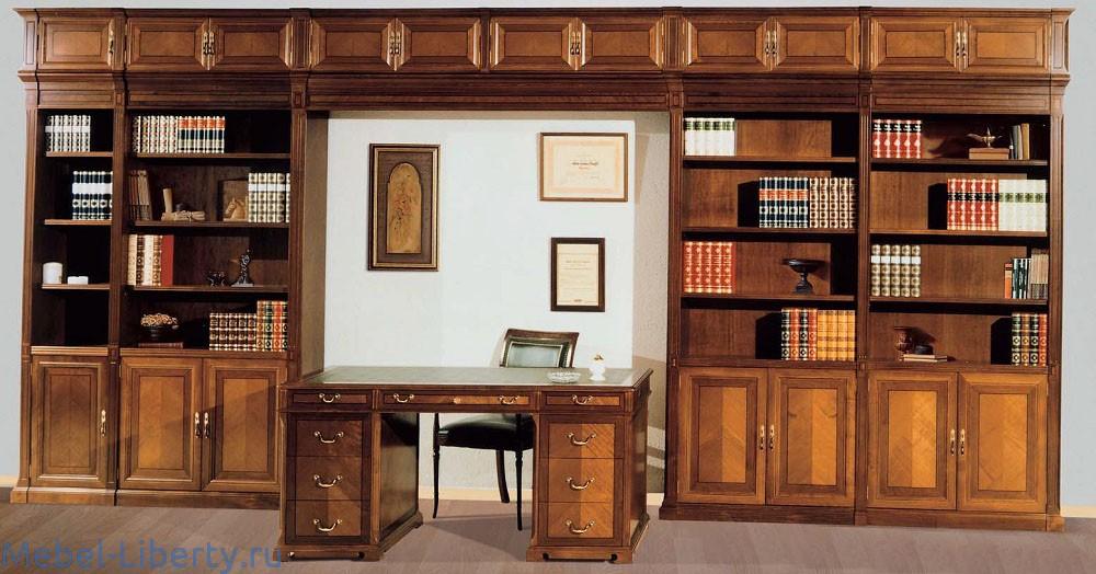 Библиотека в домашний кабинет. фото крупно и цены. 27 предло.