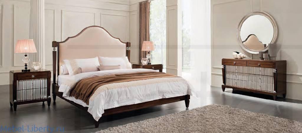 Fratelli Barri спальня арт декошпон вишни мебель либерти