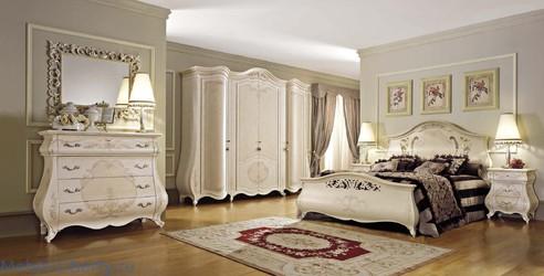 элитные спальни италии мебель либерти италии и испании